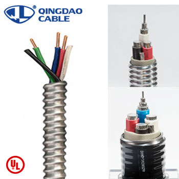 MC cable types of armored cable 14 AWG-1000kcmil including 12/2 UL Listed 1569 Featured Image
