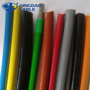 UL83 Standard 8 12 10 14awg THHN/THWN/THW/TW cable wire electrical stranded copper conductor PVC insulation and nylon sheath