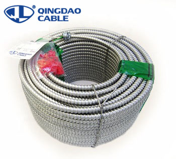 Type MC cable  Copper conductors THHN/THWN insulation Aluminum armored cable suitable for power distribution/building/lighting