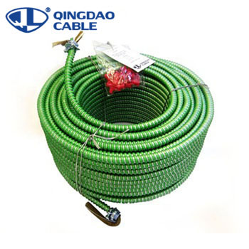 600V Cu/Conner/Al Conductor ALuminum armor/thhn/thwn-2 MC cable PVC/Nylon Insulated MC cable with PVC sheathed