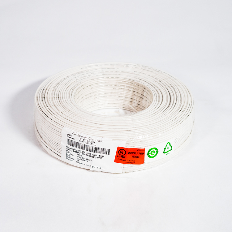 OEM/ODM Supplier Crane/lifting Machinery - type THHN wire size soft annealed  Cu conductor bare or tinned flame retardant PVC insulated nylon jacket – Cable