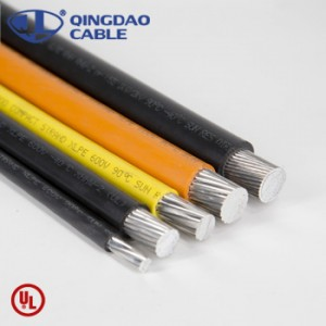 xhhw-2 cable soft drawn bare copper conductor xlpe cable moisture and heat resistant insulation 14AWG-2000kcmil 600V