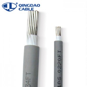 xhhw-2 cable soft drawn bare aluminum conductor xlpe cable moisture and heat resistant insulation 14AWG-2000kcmil 600V