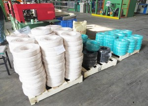 type THHN wire size soft annealed  Cu conductor bare or tinned flame retardant PVC insulated nylon jacket